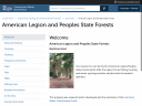American Legion and Peoples State Forests image