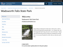 Wadsworth Falls State Park image