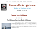 Pomham Rocks Lighthouse image